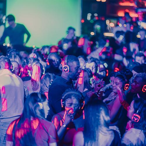 Festivals en clubs silent disco