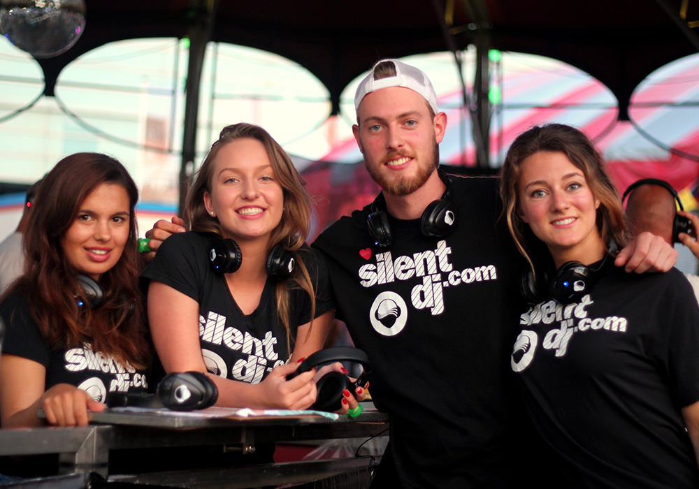 Over ons Silent DJ disco